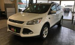 Make Ford Model Escape Year 2016 Colour White kms 47336 Trans Automatic Price: $23,990 Stock Number: 19046A VIN: 1FMCU9GX3GUB76600 Engine: 1.6L EcoBoost Fuel: Gasoline Ford Sync. Backup camera. Heated seats. Fold down rear seats. Power windows. At Duncan