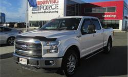 Make Ford Model F-150 Year 2016 Colour White kms 21124 Trans Automatic Price: $46,998 Stock Number: 154545 VIN: 1FTFW1EG3GKF23404 Interior Colour: Black Cylinders: 6 - Cyl Fuel: Gasoline This 2016 Ford F-150 Lariat Supercrew 5 Passenger 4X4 6.5-Foot