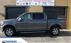 Make Ford Model F-150 Year 2016 Colour Grey kms 61253 Trans Automatic Price: $33,888 Stock Number: HA8193 VIN: 1FTEW1EP3GKE58193 Engine: 325HP 2.7L V6 Cylinder Engine Fuel: Gasoline SiriusXM, Remote Keyless Entry, Steering Wheel Audio Controls, Cruise