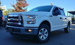 Make Ford Year 2016 Colour white Trans Automatic kms 43500 2016 Ford F150 XLT 4X4 Great Condition, No Accidents --------------------------------------------------------------------- 43,500KM Back Rack Back Up Camera, Bluetooth 5.0 L Coyote V8 - 385 hp @