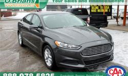 Make Ford Model Fusion Year 2016 Trans Automatic kms 33455 Price: $24,995 Stock Number: 6508A Interior Colour: Grey Engine: 2.5L 4 cyls Cylinders: 4 Fuel: Gasoline INTERESTED? TEXT 3062016848 WITH 6508A FOR MORE INFORMATION! $24995 - Comes with remainder