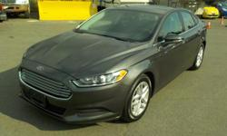 Make Ford Model Fusion Year 2016 Colour Grey kms 56077 Stock #: BC0030503 VIN: 3FA6P0H76GR371199 2016 Ford Fusion SE, 2.5L, 4 cylinder, 4 door, automatic (tiptronic), FWD, 4-Wheel ABS, cruise control, air conditioning, AM/FM radio, CD player, USB plug-in,