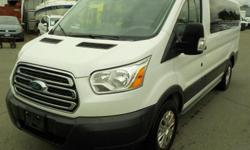 Make Ford Year 2016 Colour White Trans Automatic kms 38622 Stock #: BC0030418 VIN: 1FMZK1YG3GKB16182 2016 Ford Transit 150 Van Low Roof XLT 130-in. Wheelbase 10 Passenger Van, 3.5L, 6 cylinder, 3 door, automatic, FWD, 4-Wheel AB, cruise control, air