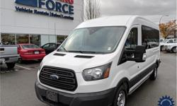 Make Ford Model Transit Wagon Year 2016 Colour White kms 54031 Trans Automatic Price: $36,990 Stock Number: 131796 VIN: 1FBAX2CMXGKA30619 Interior Colour: Grey Cylinders: 6 - Cyl Fuel: Gasoline This 2016 Ford Transit XL Medium Roof 15 Passenger Van comes