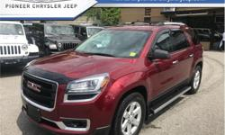 Make GMC Model Acadia Year 2016 Colour Crimson Red Tintcoat kms 54829 Trans Automatic Price: $29,888 Stock Number: 17B1514A VIN: 1GKKVPKD5GJ319017 Engine: 281HP 3.6L V6 Cylinder Engine Fuel: Gasoline Bluetooth, Rear View Camera, Touch Screen, SiriusXM,