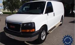 Make GMC Model Savana Cargo Van Year 2016 Colour White kms 20166 Trans Automatic Price: $27,988 Stock Number: 146958 VIN: 1GTW7AFF5G1184041 Interior Colour: Grey Cylinders: 8 - Cyl Fuel: Gasoline This 2016 GMC Savana 2500 Cargo Van comes with a 135-inch
