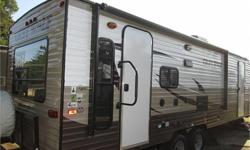 Price: $27,000 Stock Number: 7777777 brand new 2016 26rl grey wolf by forest river , elec jack , elec awning , rear living room , large slide out