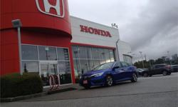 Make Honda Model Civic Sedan Year 2016 Colour Blue kms 15000 Price: $19,500 Stock Number: 1399A Interior Colour: Black Fuel: Gasoline Smart Purchase Pricing - priced to sell immediately. Although reasonable effort is made to ensure the accuracy of the