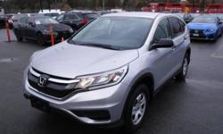 Make Honda Model CR-V Year 2016 Colour Gray kms 54968 Trans Automatic Stock #: BC0030818 VIN: 2HKRM3H32GH000588 2016 Honda CR-V LX 2WD, 2.4L, 4 cylinder, 4 door, automatic, FWD, 4-Wheel ABS, cruise control, air conditioning, AM/FM radio, CD player, power