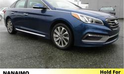 Make Hyundai Model Sonata Year 2016 Colour Blue kms 80420 Trans Automatic Price: $19,995 Stock Number: PW7005 VIN: 5NPE34AF6GH312005 Interior Colour: Black Engine: Inline 4 Fuel: Gasoline Navigation. Heated Seats/Steering Wheel. Rear View Backup Camera.