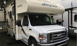 Price: $79,950 Stock Number: 935975-4267 VIN: 1FDXE4FS1GDC14526 Engine: Triton 6.8 EFI V10 The Redhawk 26XD double slide motor home by Jayco really can be your home on wheels with plenty of space for family and friends. As you enter the motor home, above