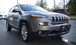 Make Jeep Model Cherokee Year 2016 Colour Brown kms 40135 Trans Automatic Everything you want in a Family Winter Vehicle; ZERO ACCIDENTS, LOCAL BC VEHICLE, FOUR-WHEEL DRIVE, BALANCE OF FACTORY WARRANTY! Loaded with options: Navigation, Backup Camera,