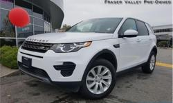 Make Land Rover Model Discovery Sport Year 2016 Colour White kms 20394 Trans Automatic Price: $34,345 Stock Number: BA2732 VIN: SALCP2BG1GH572732 Engine: 240HP 2.0L 4 Cylinder Engine Fuel: Gasoline Low Mileage, Leather Seats, Rear View Camera, Aluminum