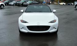 Make Mazda Year 2016 Colour Ceramic Metallic Trans Manual kms 150 The new Mazda MX-5 is here! Ask to speak to Arielle if you would like to see this beauty in person! Features: -6 speed manual transmission -2.0L Skyactiv engine with 155hp -Cloth seats