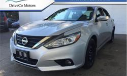 Make Nissan Model Altima Year 2016 Colour Silver kms 66368 Trans Automatic Price: $18,995 Stock Number: DE3361A VIN: 1N4AL3AP2GN311649 Engine: 182HP 2.5L 4 Cylinder Engine Fuel: Gasoline Bluetooth, Air Conditioning, Steering Wheel Audio Control, Fog