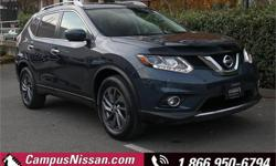 Make Nissan Model Rogue Year 2016 Colour Blue kms 61764 Trans Automatic Price: $25,990 Stock Number: 8-Q614A VIN: 5N1AT2MVXGC845200 Interior Colour: Black Cylinders: 4 Fuel: Regular Unleaded **NO ACCIDENTS**ONE LOCAL OWNER**HANDS-FREE LIFT-GATE** Come