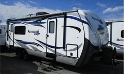 Price: $37,995 Stock Number: RCX3210 This 4 Season ready trailer is absolutely immaculate. With all the luxuries of home you wont be without on your camping adventures. This unit comes with Dual Entry Doors, A/C, TV/DVD player, Microwave, Oven, Stove,
