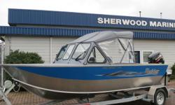 This Raider Pro Sport 172 with Pod powered by Suzuki DF90ATL and packaged with a 2600lb Tuff trailer. Factory options include: *Closed Bow *Extended bottom *2-Bow canvas top *Hull graphics *22? side seats with storage *Passenger wiper *Half sidewall