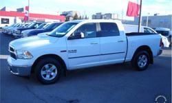 Make Ram Model 1500 Year 2016 Colour White kms 94147 Trans Automatic Price: $29,999 Stock Number: 135014 VIN: 1C6RR7LM1GS248722 Interior Colour: Black Cylinders: 6 - Cyl Fuel: Diesel This 2016 Ram 1500 SLT Crew Cab 6 Passenger 4X4 5.7-Foot Short Box Truck