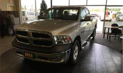 Make Ram Model 1500 Year 2016 Colour Silver kms 76598 Trans Automatic Price: $32,490 Stock Number: 18180A VIN: 1C6RR7FTXGS405781 Interior Colour: Grey Engine: 5.7L HEMI VVT V8 w/FuelSaver MDS Fuel: Gasoline Fold up rear seats. Satellite radio. Bed liner.