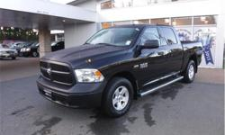 Make Ram Model 1500 Year 2016 Colour Black kms 89286 Trans Automatic Price: $29,995 Stock Number: D24845A VIN: 3C6RR7KT9GG172361 Interior Colour: Grey Engine: 5.7L HEMI VVT V8 W/FUELSAVER MDS Cylinders: 8 Fuel: Gasoline Accident Free, BC Only, Running