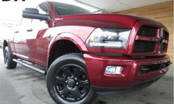 Make Ram Model 3500 Year 2016 Colour Red kms 33318 Trans Automatic Price: $65,498 Stock Number: CCX1911C VIN: 3C63R3EL5GG282849 Interior Colour: Black Engine: 6.7L Cummins I-6 Turbo Diesel Fuel: Diesel Diesel, Bluetooth, Sunroof, Heated Leather Seats,