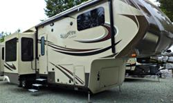 MSRP $109,980 Arbutus RV Price $99,980 Year-end Liquidation Savings NOW $97,498 The Grand Design Solitude 375RE could be the finest fifth wheel rear-living space ever designed and produced - spacious and perfect for entertaining. With FIVE slides, the