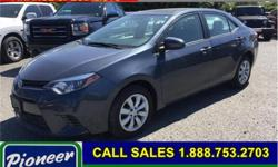 Make Toyota Model Corolla Year 2016 Colour Grey Trans Automatic Price: $17,250 Stock Number: A-0114 Super low in mileage, this Corolla features hands free cellular connectivity, fatigue reducing heated front seats, enhanced electronic traction control,