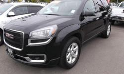 Make GMC Model Acadia Colour BLACK Trans Automatic kms 34000 2016 USED GMC ACADIA SLE AWD FOR SALE.... ******REDUCED****** SAVE THOUSANDS...EIGHT PASSENGER....18 INCH WHEELS....XM RADIO....4 G WIFI CONNECTION....REAR CAMERA AND PARKING