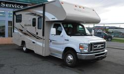 Under 24', great size for Vancouver island or touring. Sleeps 6. Features include. -Fiberglass roof -Double pane windows -4000w generator -TV -DVD -Class 3 hitch and 7 pin wiring -Power awning Back up camera and more 87460km Peden RV has no extra fees, no