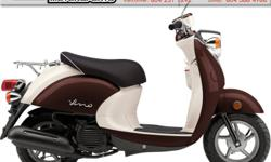 2016 Yamaha Vino 50 Scooter $2799 European style with Japanese reliability! Practical, economical, and stylish. Colour: Brown. Buy with confidence from a Genuine Yamaha Dealership. ContactPatrick or Dave at our Surrey location - 604-588-4988.