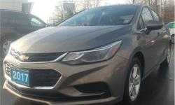 Make Chevrolet Model Cruze Year 2017 Colour Grey kms 29882 Trans Automatic Price: $16,995 Stock Number: CP8031A VIN: 3G1BE5SM1HS548125 Interior Colour: Black Engine: 1.4L Inline4 Turbo Engine Configuration: Inline Cylinders: 4 Fuel: Regular Unleaded