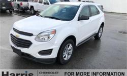 Make Chevrolet Model Equinox Year 2017 Colour Summit White kms 30290 Trans Automatic Price: $23,900 VIN: 2GNFLEEK3H6117252 Interior Colour: Jet Black Engine: 2.4L 4 cyl Cylinders: 4 Fuel: Flex Fuel 2017 Chevy Equinox LS AWD in SUMMIT WHITE with BLACK