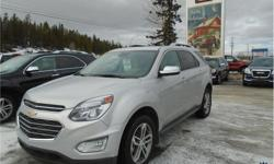 Make Chevrolet Model Equinox Year 2017 Colour Silver kms 49801 Trans Automatic Price: $29,000 Stock Number: 143136 VIN: 2GNFLGEK2H6275884 Interior Colour: Black Cylinders: 4 - Cyl Fuel: Gasoline This Chevrolet Equinox Premier 1LZ 5 Passenger All Wheel