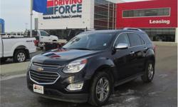 Make Chevrolet Model Equinox Year 2017 Colour Blue kms 42516 Trans Automatic Price: $27,998 Stock Number: 138988 VIN: 2GNFLGEK9H6319802 Interior Colour: Black Cylinders: 4 - Cyl Fuel: Gasoline This 2017 Chevrolet Equinox Premier 5 Passenger All Wheel