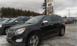 Make Chevrolet Model Equinox Year 2017 Colour Black kms 51256 Trans Automatic Price: $26,988 Stock Number: 138989 VIN: 2GNFLGEK4H6319299 Interior Colour: Black Cylinders: 4 - Cyl Fuel: Gasoline This 2017 Chevrolet Equinox Premier 5 Passenger All Wheel