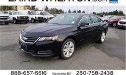 Make Chevrolet Model Impala Year 2017 Colour Black kms 58539 Trans Automatic Price: $18,700 Stock Number: 102556 VIN: 2G1105SA1H9104336 Engine: Gas I4 2.5L/150 Cylinders: 4 Fuel: Gasoline KBB.com 5-Year Cost to Own Awards. This Chevrolet Impala boasts a