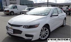 Make Chevrolet Model Malibu Year 2017 Colour White kms 15840 Trans Automatic Price: $18,497 Stock Number: X25081 VIN: 1G1ZE5STXHF146405 Interior Colour: Black Local, clean history on car proof, extra clean in and out, well kept by the owner, equipped