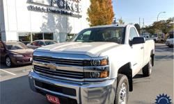 Make Chevrolet Model Silverado 2500HD Year 2017 Colour White kms 15046 Trans Automatic Price: $39,990 Stock Number: 141544 VIN: 1GC0KUEG0HZ233018 Interior Colour: Black Cylinders: 8 - Cyl Fuel: Gasoline This 2017 Chevrolet Silverado 2500HD Regular Cab 3