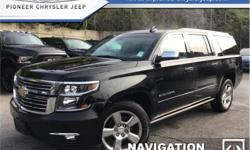 Make Chevrolet Model Suburban Year 2017 Colour Black kms 40660 Trans Automatic Price: $58,998 Stock Number: A6051 VIN: 1GNSKJKC2HR236051 Engine: 5.3L 8 Cylinder Engine Fuel: Gasoline Navigation, Leather Seats, Cooled Seats, Bluetooth, Heated Seats! Check