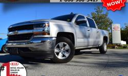 "Make Chevrolet Model Silverado 1500 Year 2017 Colour Silver Trans Automatic We are Canada's #1 KIA Retail Volume Dealer. Our volume purchasing power saves you money! Our motto ""we can replace vehicles, we cannot replace our customers!"" is the reason we"