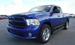 Model 1500 Year 2017 Colour Blue Trans Automatic kms 51267 Stock #: BC0030630 VIN: 1C6RR7FT4HS848638 2017 Dodge RAM 1500 ST Crew Cab Short Box 4WD, 5.7L, 8 cylinder, 4 door, automatic, 4WD, 4-Wheel ABs, cruise control, air conditioning, AM/FM radio, power