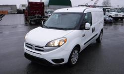 Year 2017 Colour White Trans Automatic kms 16818 Stock #: BC0030852 VIN: ZFBERFDBXH6G23568 2017 Dodge RAM ProMaster City Tradesman SLT Cargo Van, 2.4L, 4 cylinder, 4 door, automatic, FWD, 4-Wheel AB, cruise control, air conditioning, AM/FM radio, power