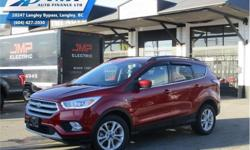 Make Ford Model Escape Year 2017 Colour Red kms 31574 Trans Automatic Price: $24,888 Stock Number: ZA2909 VIN: 1FMCU9GD9HUD22909 Interior Colour: Grey Engine: 179HP 1.5L 4 Cylinder Engine Fuel: Gasoline Bluetooth, Heated Seats, Rear View Camera, SiriusXM,