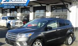 Make Ford Model Escape Year 2017 Colour Grey kms 22842 Trans Automatic Price: $22,990 Stock Number: ZA6091 VIN: 1FMCU0GD7HUA56091 Engine: 179HP 1.5L 4 Cylinder Engine Fuel: Gasoline Low Mileage, Bluetooth, Heated Seats, Rear View Camera, SiriusXM,