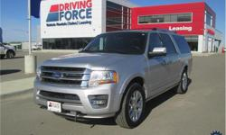 Make Ford Model Expedition Max Year 2017 Colour Silver kms 44498 Trans Automatic Price: $52,998 Stock Number: 134227 VIN: 1FMJK2AT9HEA10250 Interior Colour: Black Cylinders: 8 - Cyl Fuel: Gasoline This 2017 Ford Expedition Max Limited Luxury 7 Passenger