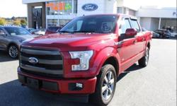 Make Ford Model F-150 Year 2017 Colour Ruby Red Metallic Tinted Clearcoat kms 26437 Trans Automatic Price: $47,788 Stock Number: 93730 VIN: 1FTEW1EG0HFA55234 Interior Colour: Black Leather Engine: 3.5L V6 EcoBoost Turbo Engine 3.5L Ecoboost, Navigation,
