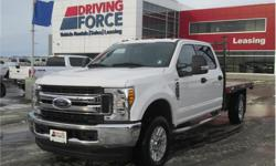 Make Ford Model F-350 Super Duty Year 2017 Colour White kms 22811 Trans Automatic Price: $47,998 Stock Number: 137009 VIN: 1FD8W3F65HEC69894 Interior Colour: Grey Cylinders: 8 - Cyl Fuel: Gasoline This 2017 Ford F-350 Super Duty XLT Crew Cab 6 Passenger