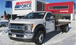Make Ford Model F-550 Super Duty DRW Year 2017 Colour White kms 29036 Trans Automatic Price: $65,998 Stock Number: 142457 VIN: 1FDUF5HT4HED62385 Interior Colour: Black Cylinders: 8 - Cyl Fuel: Diesel This 2017 Ford F-550 Super Duty XLT Regular Cab 3