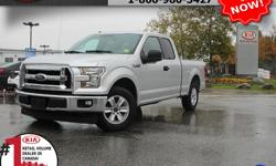 """Make Ford Model F-150 Year 2017 Colour Silver Trans Automatic We are Canada's #1 KIA Retail Volume Dealer. Our volume purchasing power saves you money! Our motto """"we can replace vehicles, we cannot replace our customers!"""" is the reason we sell more new"""